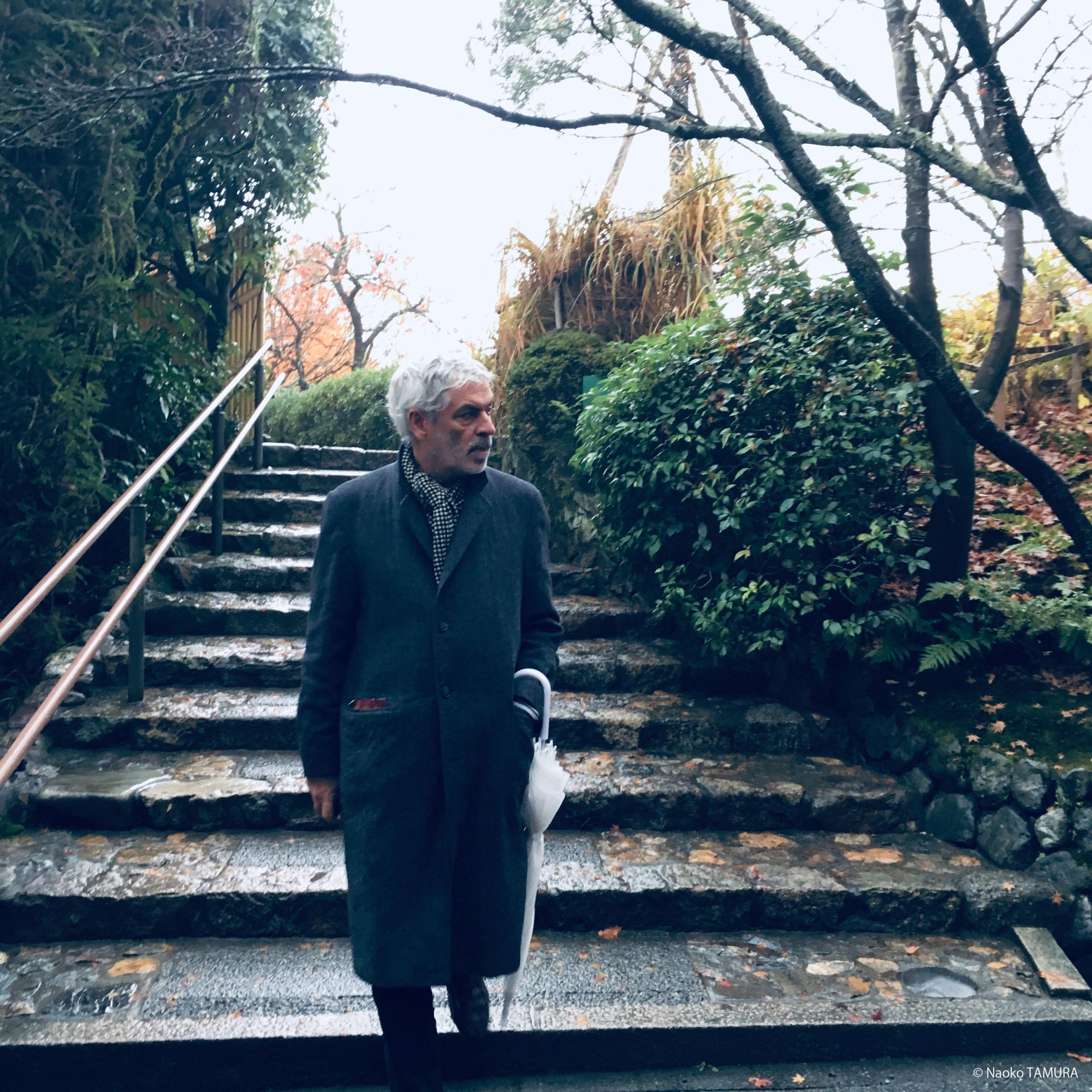 Pedro Costa / Dec. 2019 / Kyoto / Naoko Tamura